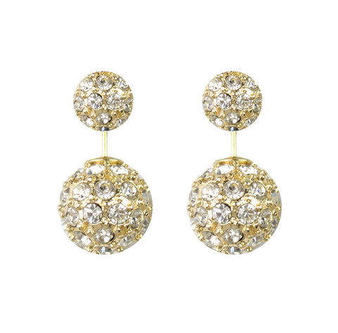 Moon and Lola - Westbury 360 Rhinestone Studs