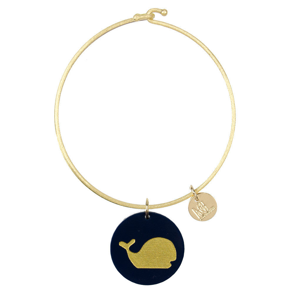 I found this at #moonandlola! - Eden Whale Charm Bangle