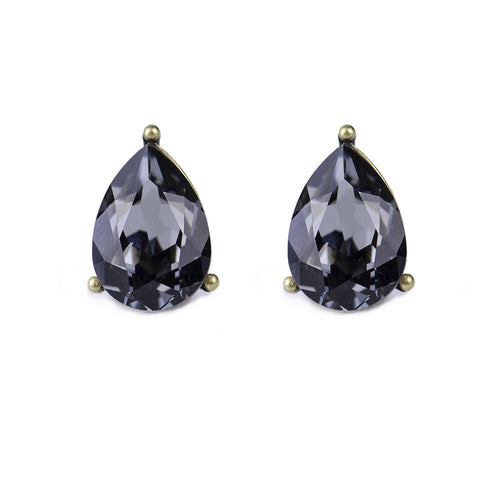 I found this at #moonandlola! - Windsor Studs Black Diamond