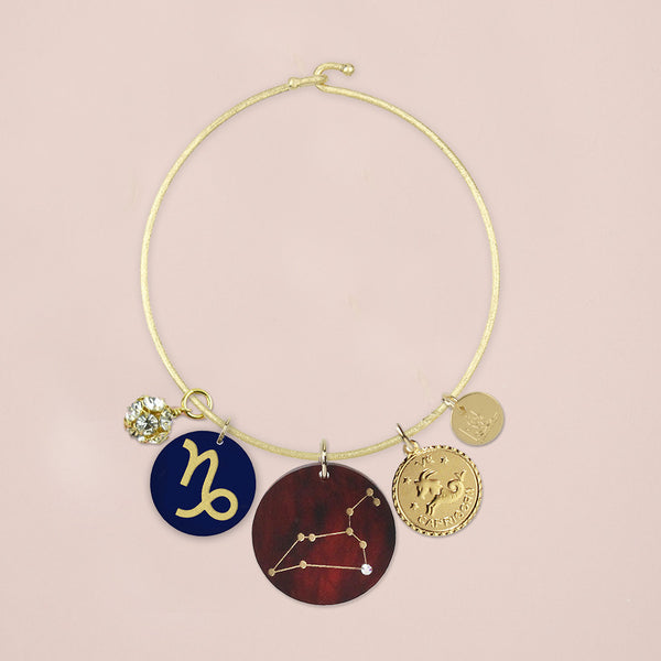 Moon and Lola - Zodiac Charm Bracelet