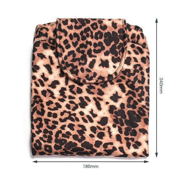EASYGO Cosmetics Bag Leopard - Cosmetic Bags & Cases - LUXXC