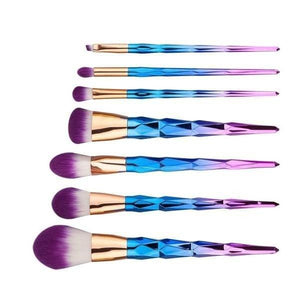 Unicorn Makeup Brushes 7 pcs Set - Makeup Brush - LUXXC