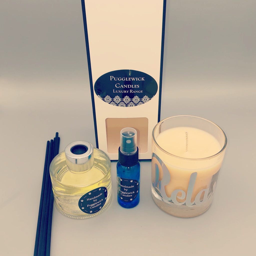 Relaxation and sleep bundle - Pugglewick Candles