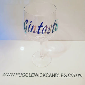Gintastic gin glass