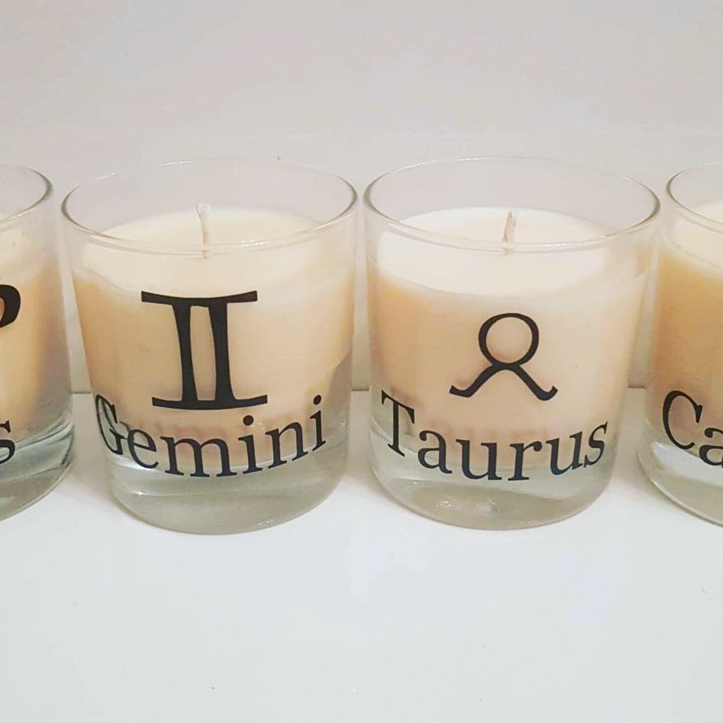 Soy Wax Zodiac Candles - Virgo - with scent to match the star sign - Pugglewick Candles