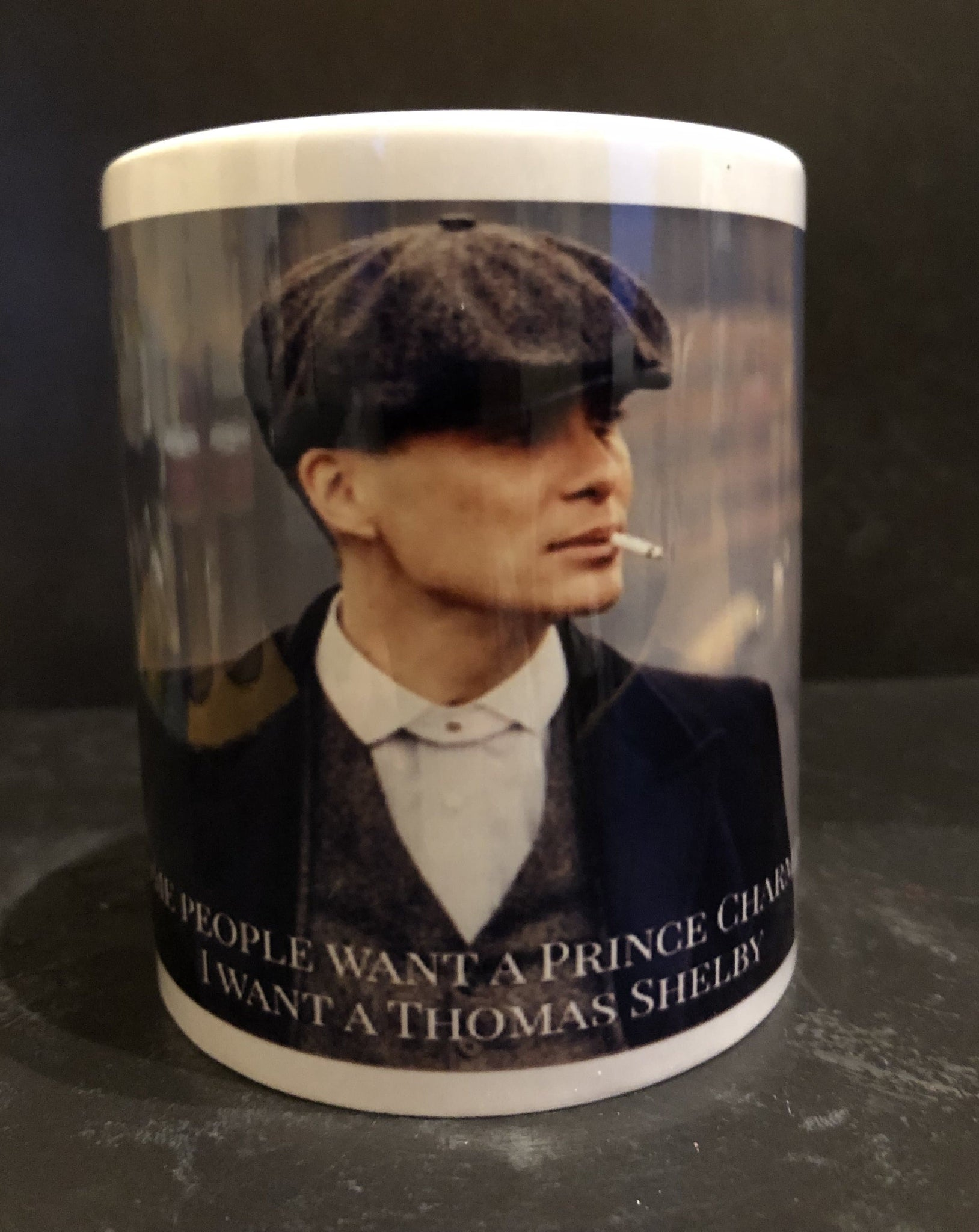I want a Thomas Shelby mug - Pugglewick Candles
