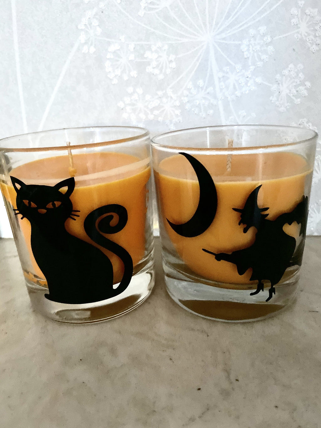 Halloween black cat candles - Pugglewick Candles