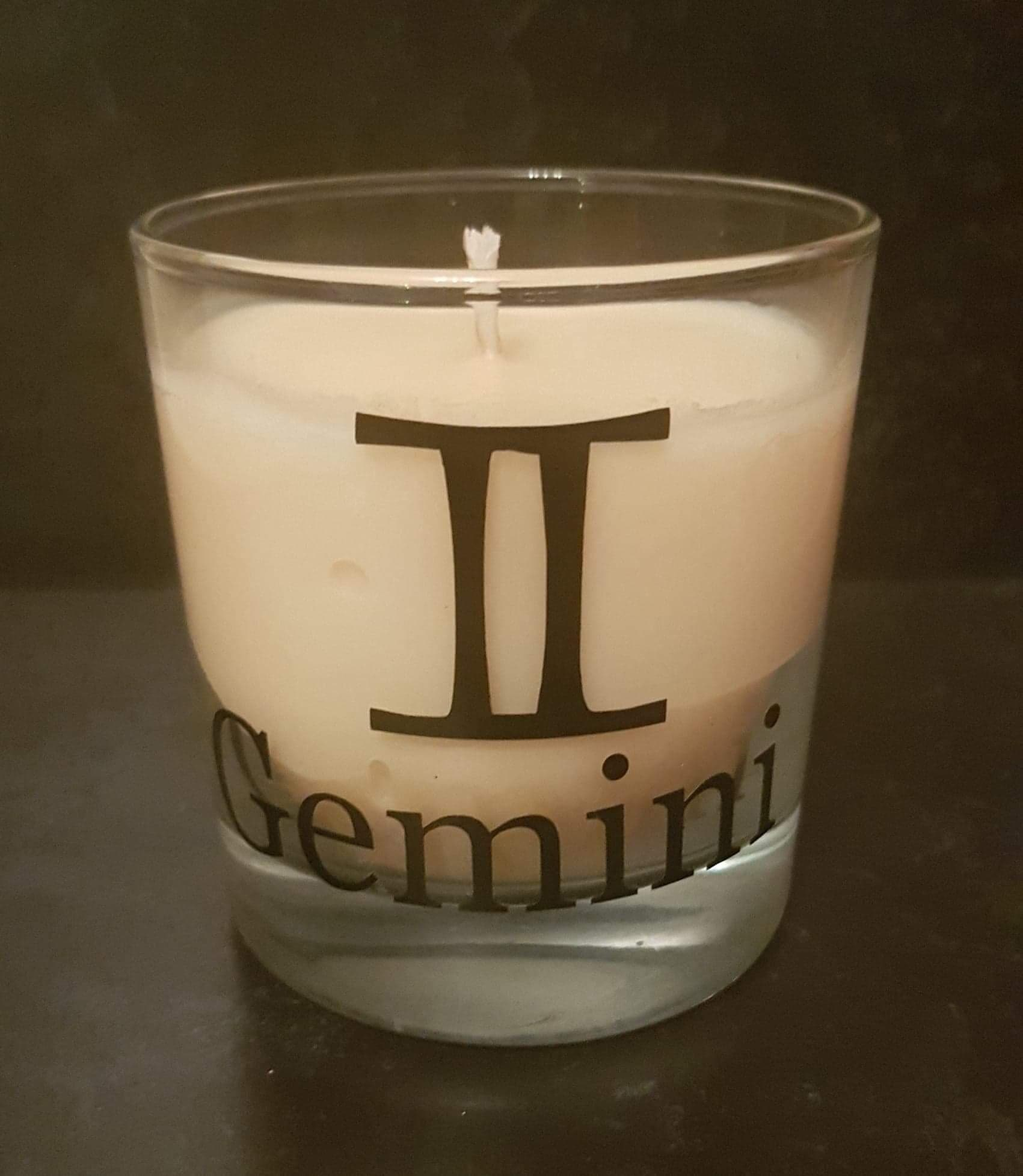 Zodiac Candles - Gemini - Scent matched to the star sign - Pugglewick Candles
