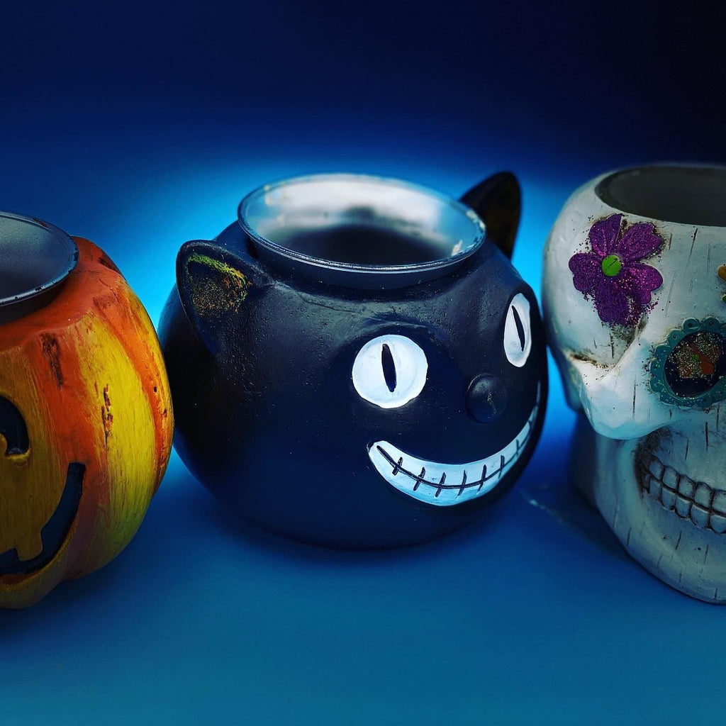 Halloween tea light holders - Pugglewick Candles