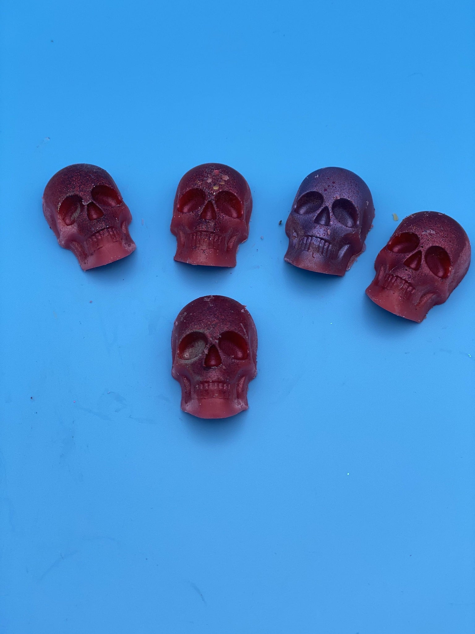 Dragons blood skull melts - Pugglewick Candles