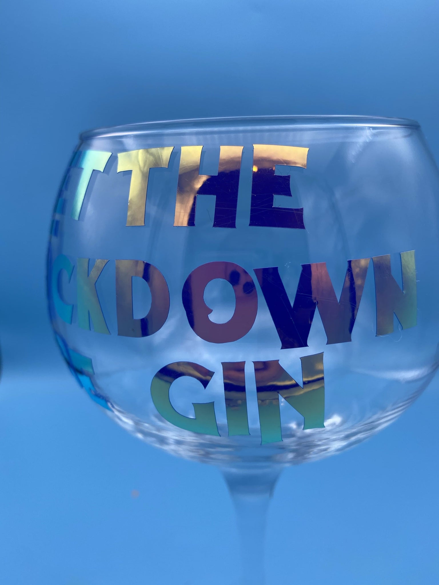 Let the lockdown be Gin glass