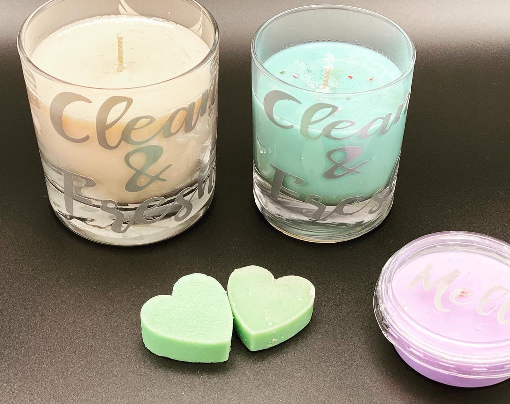 Mrs H inspired candle set with zoflo scents - Pugglewick Candles