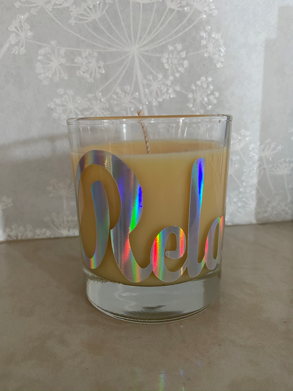 Relax candle Natural range in a de stress fragrance - Pugglewick Candles
