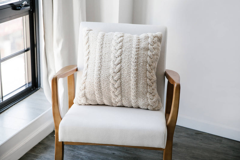 Braided Throw Pillow