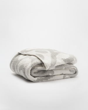 Cloud Grey - Off White / Throw