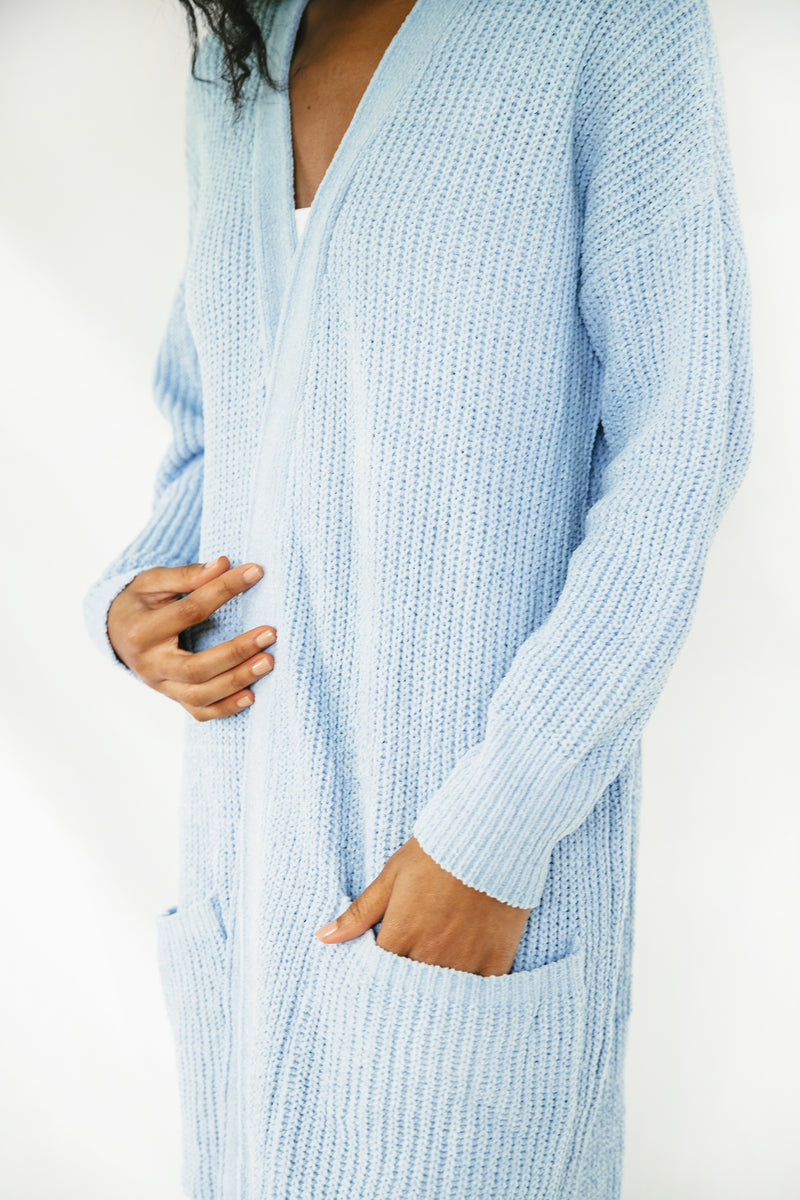 Nube Ribbed Long Cardigan