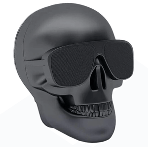 Skull Bluetooth Speaker in Black