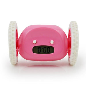 Bolt the Runaway Alarm Clock in Pink