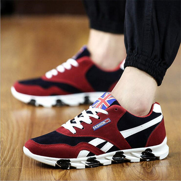 Comfortable Air Mesh lace Up Running Shoes