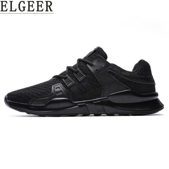 Mesh Breathable Casual  Lace-up Shoes