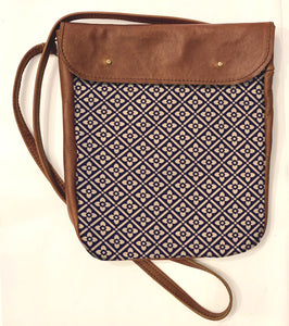 Crossover bag Diamond Pattern