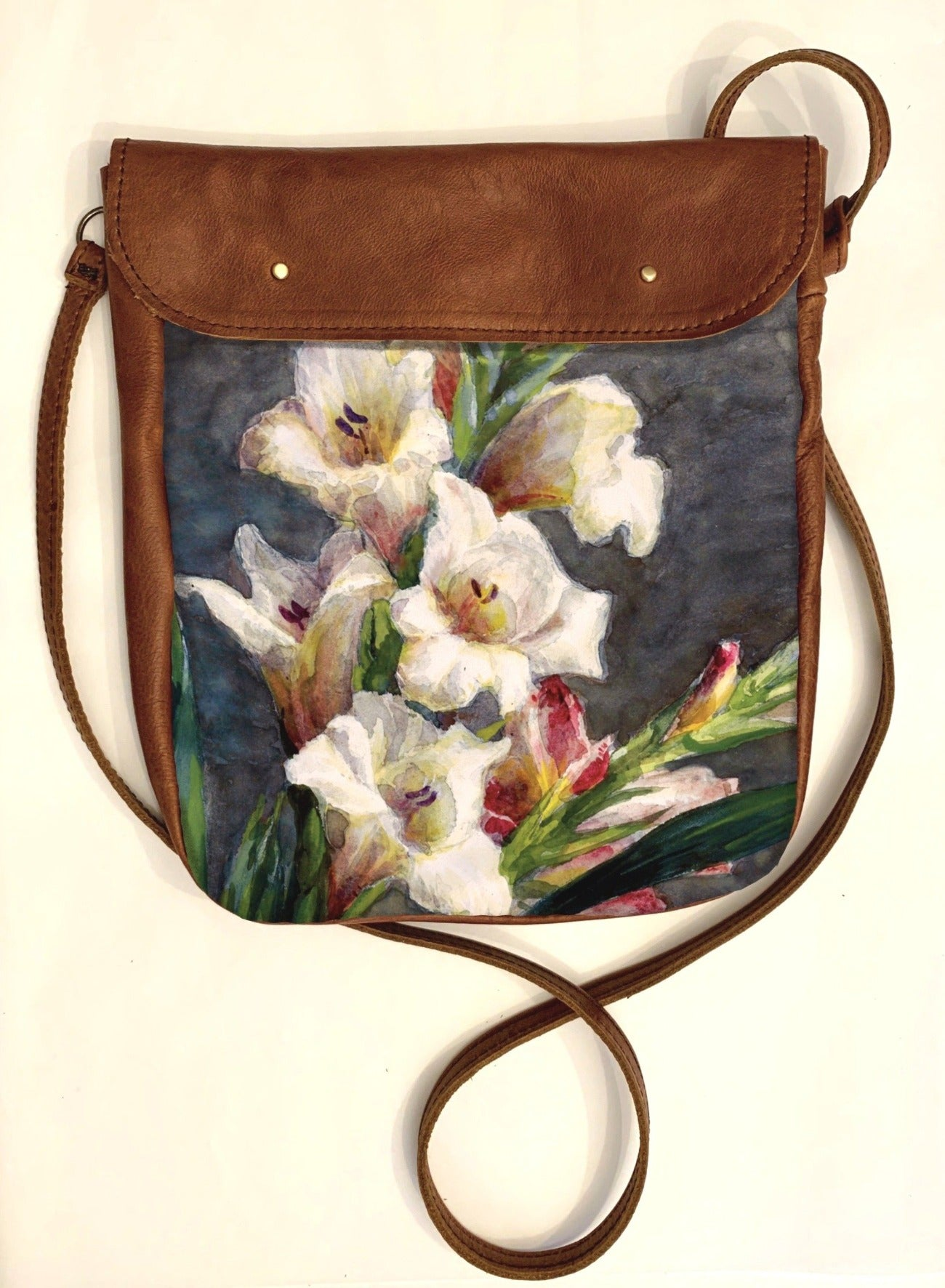 Crossover bag Gladiolas