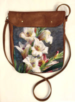 Load image into Gallery viewer, Crossover bag Gladiolas