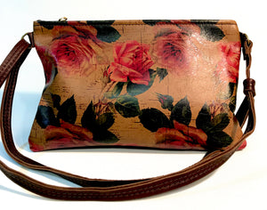 Handmade leather handbag