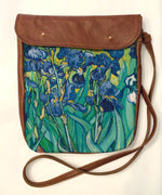 Load image into Gallery viewer, Crossover bag Van Gogh Irises