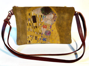 Shoulder bag Klimt - The Kiss