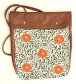 Load image into Gallery viewer, Crossover bag Poppy Pattern