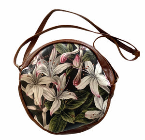 Circle bag White Lillies