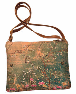 Shoulder bag Blossoms and Birds