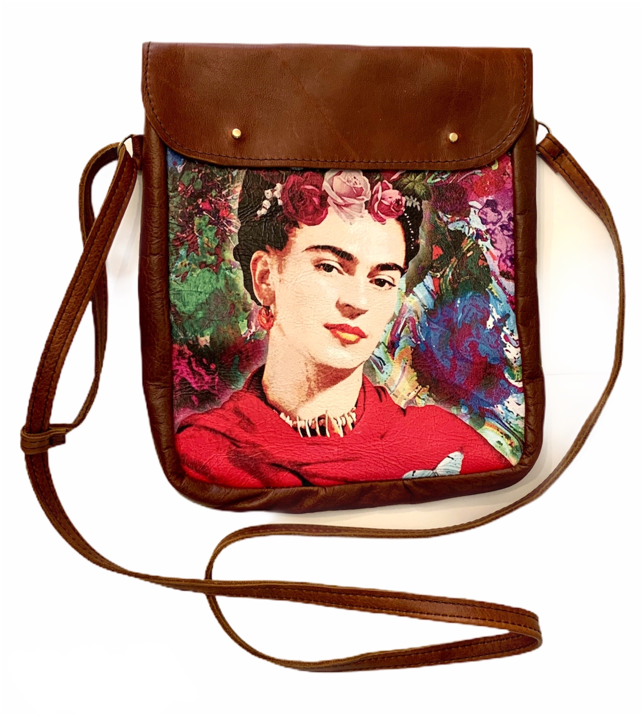 Crossover bag Frida floral