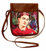 Load image into Gallery viewer, Crossover bag Frida floral