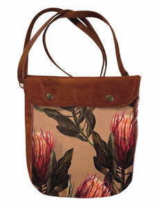 Crossover bag Peach Proteas