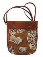 Load image into Gallery viewer, Crossover bag Floral Sketch