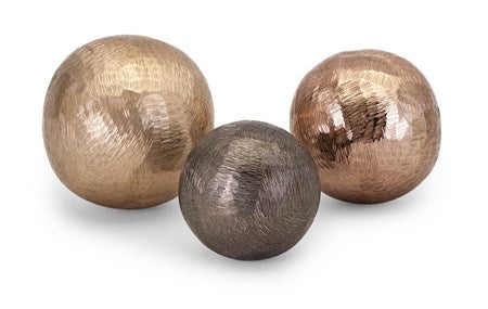 Zach Aluminum Orbs - Set of 3