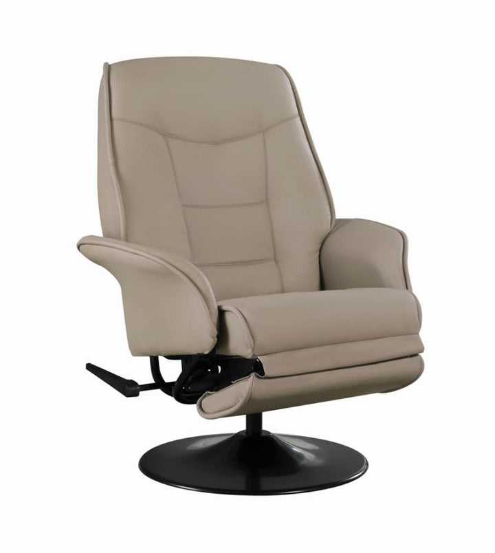 BERRI RECLINABLE SWIVEL BEIGE/ Última pieza