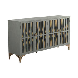 GRAY-GREEN-GOLD GABINETE
