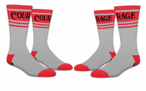 Believe Courage Socks