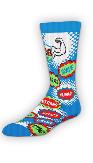 Superhero Courage Socks