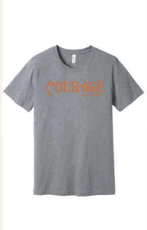 Youth Fall Courage Socks tee