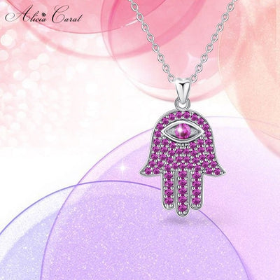 Collier Main de Fatima Rose