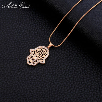 Collier Main de Fatma Plaqué Or