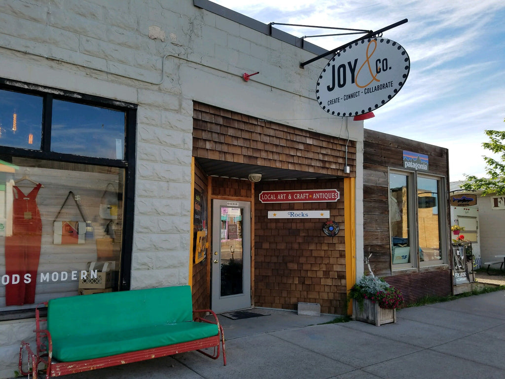 Joy And Company, an art store located in Grand Marais, Minnesota