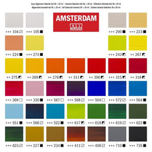 Load image into Gallery viewer, 36 piece Acrylic Paint Set - Amsterdam All Acrylics Standard Series