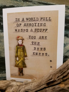 """In a world full of annoying wasps and stuff..."""