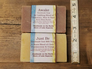 """Just Be"" Homemade Soap"