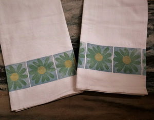 Tea towels by Middle Sister Made